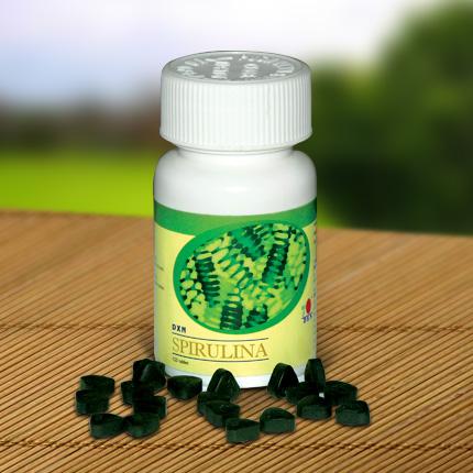 Spirulina tabletky