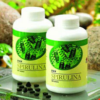 It is spirulina against allergy!