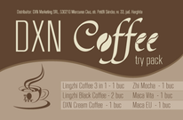 DXN Coffee Try Pack