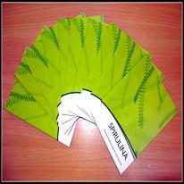 Spirulina Booklet - set of 10 pcs