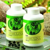 Tableta Spirulina 500